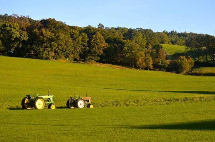 Rolling Vermont Farmland