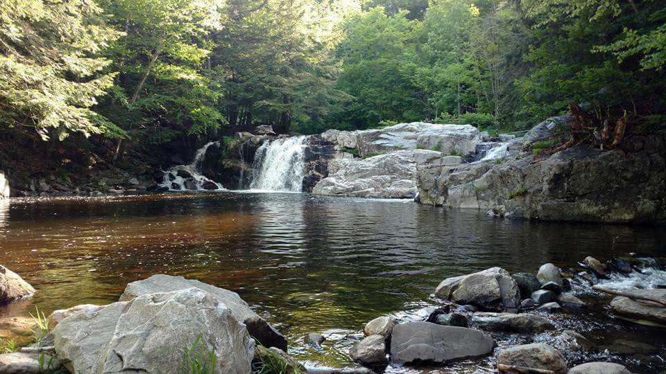 Nearby Buttermilk Falls