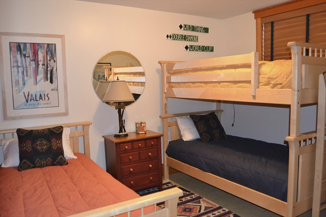 Bedroom Four With Twin Bunk Bed