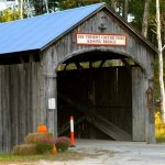 Vermont covered bridge.