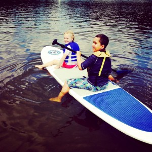 Stand up Paddle Boarding - Plymouth State Park