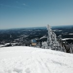 Trails on Okemo with a View