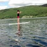 SUP on Lake Rescue