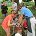 Cider pressing is fun!
